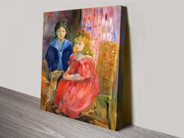 Buy Stunning Portrait Prints by Berthe Morisot