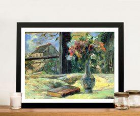 Buy Flower Vase in Window Classic Gauguin Art