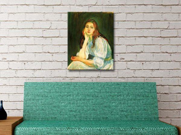 Buy Ready to Hang Berthe Morisot Wall Art AU