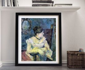 Buy a Madame Gauguin Ready to Hang Framed Print
