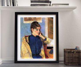 Buy Madeleine Bernard a Framed Portrait Print