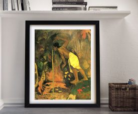 Buy Mysterious Source a Gauguin Framed Print