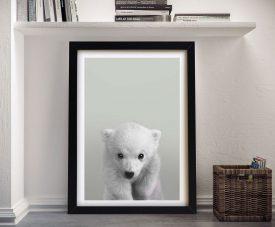 Buy a Ready to Hang Polar Bear Portrait Print