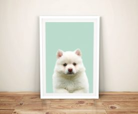 Buy a Magical Puppy Portrait Framed Print