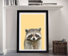 Buy a Sweet Raccoon Portrait Framed Print