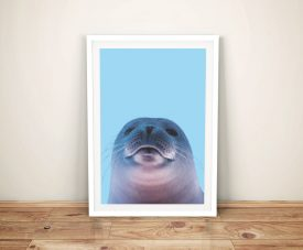 Buy a Cheeky Seal Portrait Perfect Nursery Decor