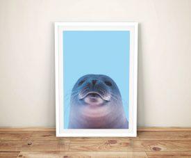 Buy a Cheeky Seal Portrait Perfect Nursery Decor