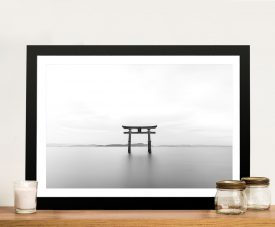 Buy The Shrine Magical Japanese Canvas Art