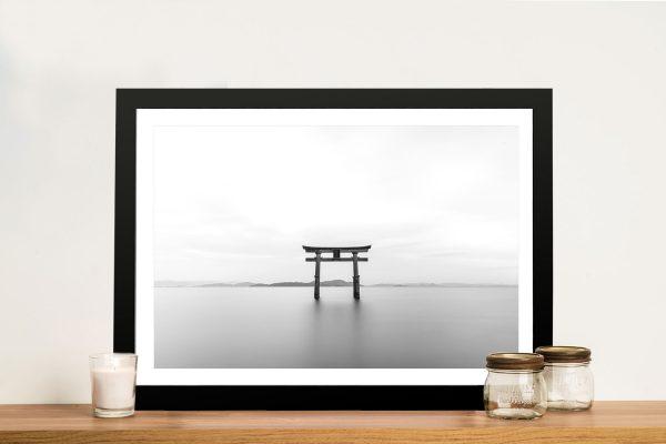 Buy The Shrine Magical Japanese Canvas Art