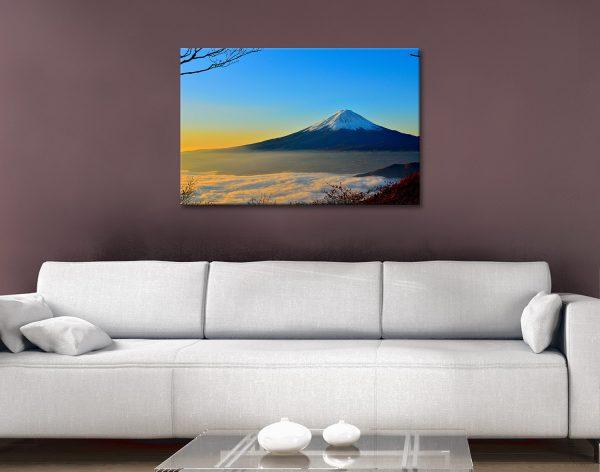 Stunning Mount Fuji Wall Art For Sale Online