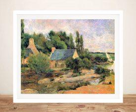 Buy a Print of Washerwomen at Pont Avon