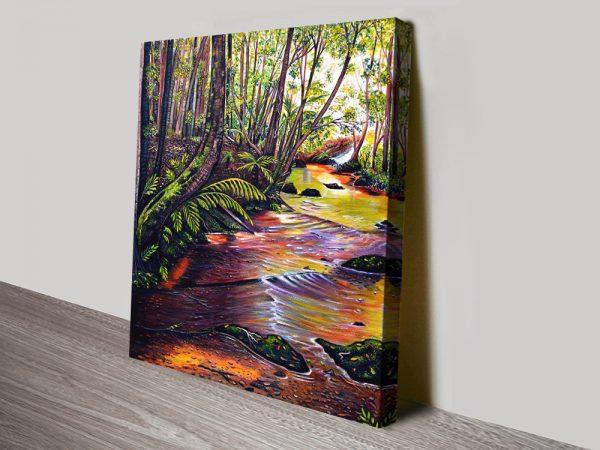 Buy Blue Mountains Stream Australian Artwork