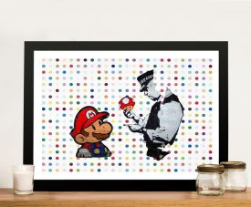 Buy Does This Belong to You Framed Graffiti Wall Art
