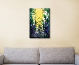 Buy Forest Light Framed Art by Linda Callaghan