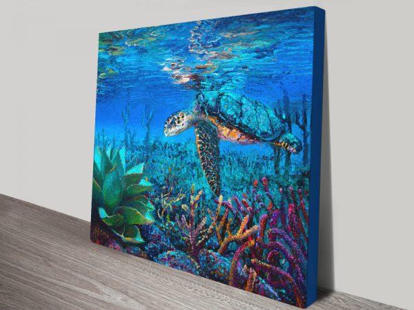 Buy Stunning Sea life Iris Scott Ready to Hang Art