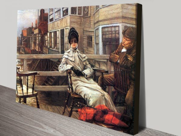 Buy Waiting for the Ferry Affordable Tissot Art AU