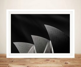 Buy Sydney Opera House Wall Art in Black & White