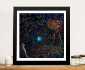 Buy The Visitor a Framed Print of an Iris Scott Original