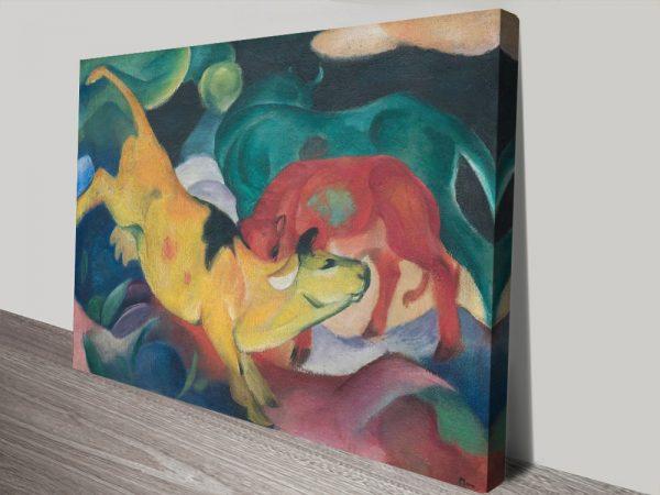 Buy Colourful Franz Marc Prints Cheap Online