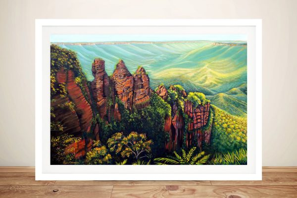Buy Artwork Featuring the Blue Mountains in Australia
