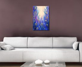 Buy a Framed Canvas Print of Wild Daisies