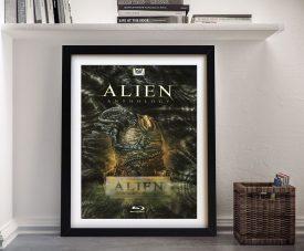 Buy a Movie Poster Framed Print for Alien Resurrection
