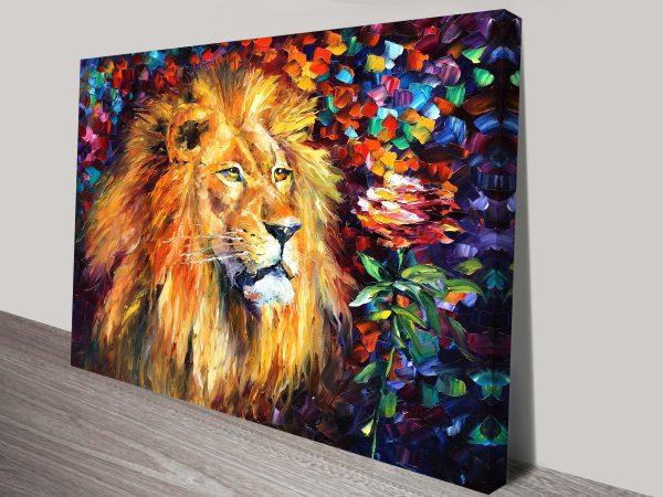 Buy Lion of Zion Framed Leonid Afremov Artwork
