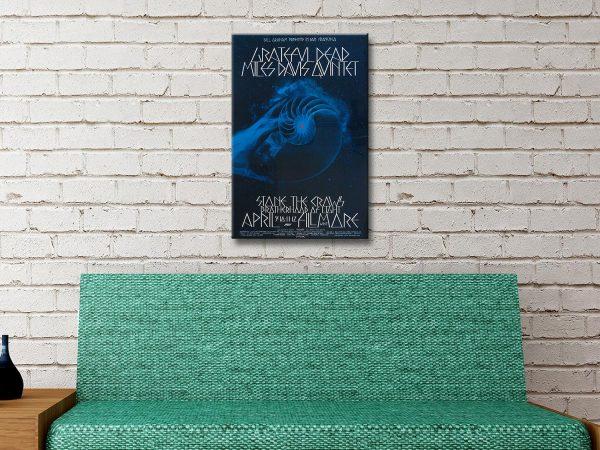 Buy Grateful Dead Wall Art Great Gift Ideas Online