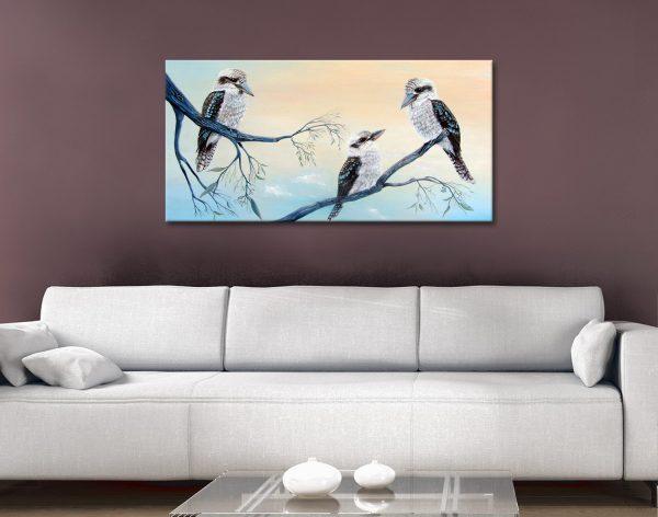 Buy Colourful Kookaburra Art Gift Ideas AU