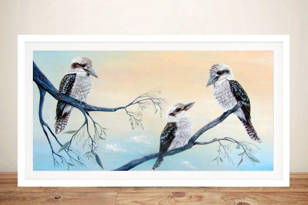 Buy a Framed Print of Kookaburra Charm
