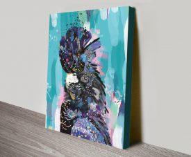 Buy Black Cockatoo Framed Canvas Wall Art
