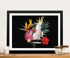 Buy Botanical Reef Framed Canvas Wall Art