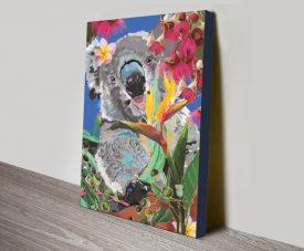 Buy a Koala Karin Roberts Painting Print