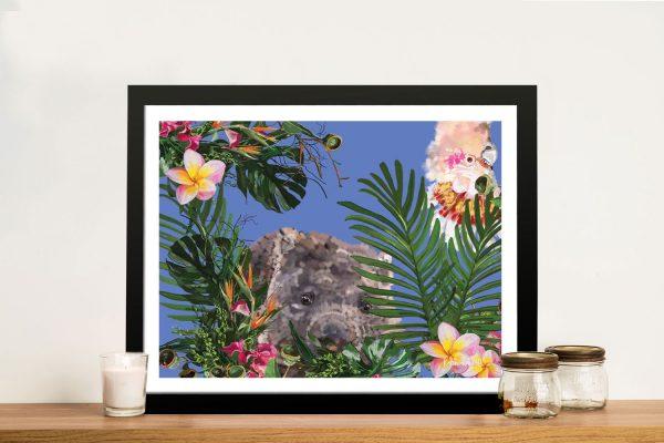 Buy a Karin Roberts Wombat Painting Print