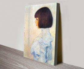 Buy Helene Klimt Classic Portrait Wall Art