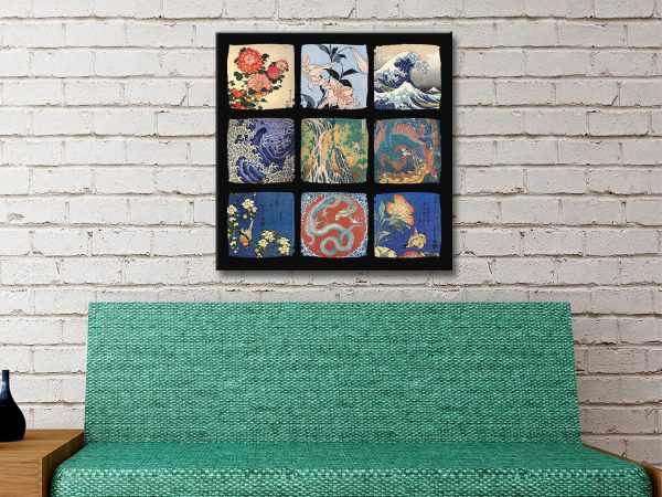 Buy Ready to Hang Japanese Wall Art Online