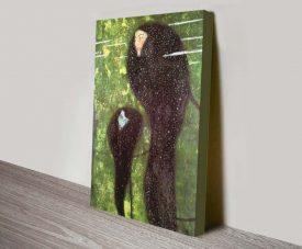 Buy a Gustav Klimt Mermaids Print on Canvas