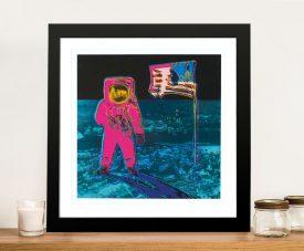 Buy Andy Warhol's Moonwalk 2 Framed Art