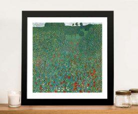 Buy a Poppy Field Framed Classic Art Print