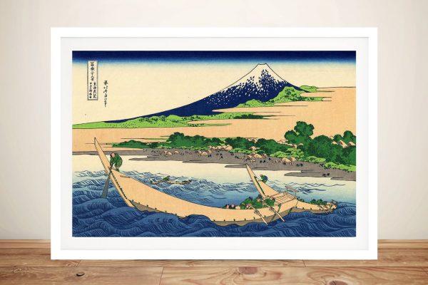 Buy a Ready to Hang Print of Shore of Tago Bay