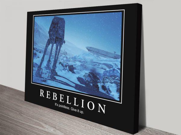 Buy Affordable Comical Star Wars Art Online