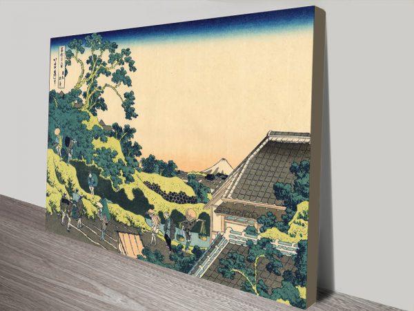 Buy Ready to Hang Hokusai Prints on Canvas