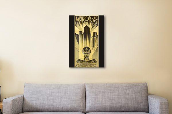 Buy a Ready to Hang Metropolis Poster AU