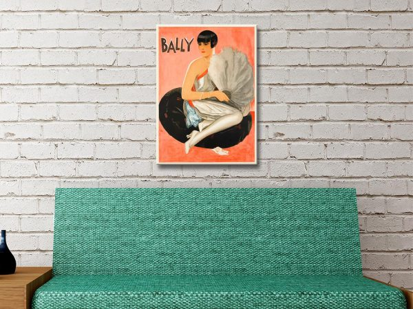 Buy Bally Vintage Wall Art Great Gift Ideas Online