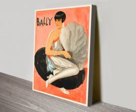 Buy a Bally Elegance Vintage Advertising Poster