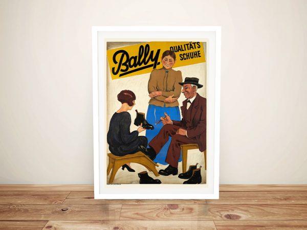 Buy Ready to Hang Bally Qualitats Wall Art Online