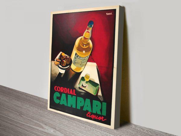 Buy a Cordial Campari Vintage Nizzoli Poster Print