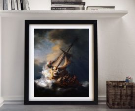 Buy The Storm on the Sea of Galilee Framed Art
