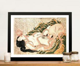 Buy The Dream of the Fisherman's Wife Framed Art