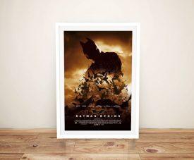 Buy a Framed Movie Poster Print for Batman Begins